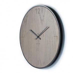 Ρολόι τοίχου natural oak grey