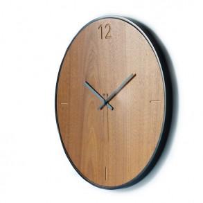 Ρολόι τοίχου Natural walnut