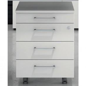 Συρταριέρα τροχήλατη με 4 συρτάρια