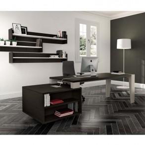 Γραφείο με ενσωματωμένο ντουλάπι