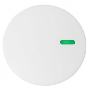 Λευκή απλίκα τοίχου με λεπτομέρεια σε τρία χρώματα