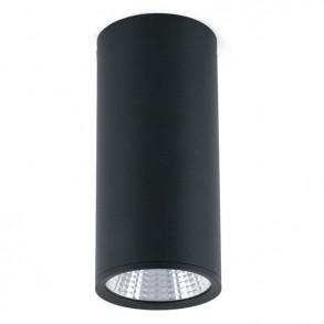 Φωτιστικό οροφής μαύρο LED 15W