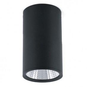 Φωτιστικό οροφής μαύρο LED 25W