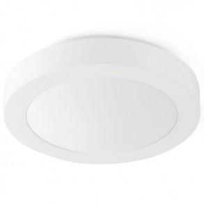 Λευκό φωτιστικό οροφής Φ350