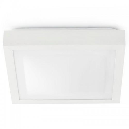 Λευκό φωτιστικό οροφής 32x32