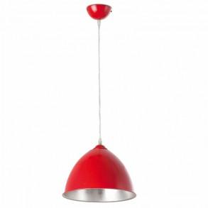 Design φωτιστικό Φ26 σε κόκκινο χρώμα