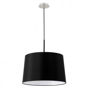 Κρεμαστό  φωτιστικό Φ45 μαύρο