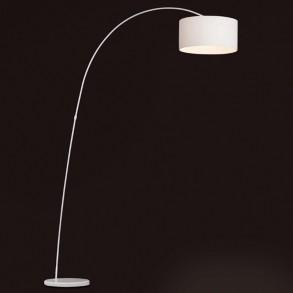 Design φωτιστικό δαπέδου σε λευκό χρώμα