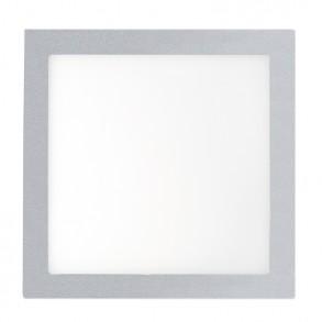 Γκρί φωτιστικό οροφής LED 6W 3000K θερμού φωτός