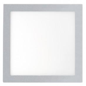 Γκρί φωτιστικό οροφής LED 12W 3000K θερμού φωτός