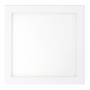Λευκό φωτιστικό οροφής LED 12W 6000K ψυχρού φωτός