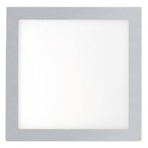 Γκρί φωτιστικό LED 18W 6000K ψυχρού φωτός