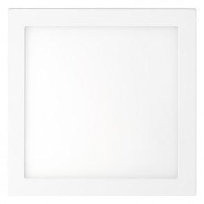 Λευκό φωτιστικό οροφής LED 18W 3000K θερμού φωτός