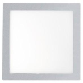 Γκρί φωτιστικό οροφής LED 25W 3000K θερμού φωτός