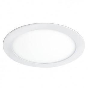 Λευκό φωτιστικό οροφής LED 6W 3000K θερμού φωτός