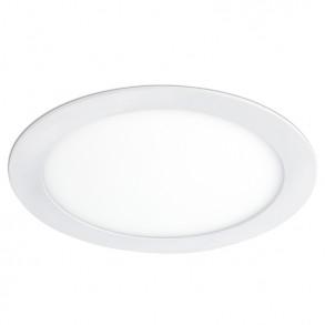 Λευκό φωτιστικό Φ17 LED 12W 3000K θερμού φωτός