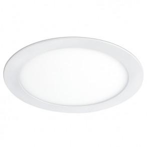Λευκό φωτιστικό Φ22 LED 18W 3000K θερμού φωτός