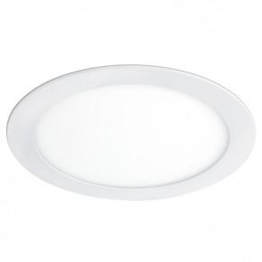 Λευκό φωτιστικό Φ30 LED 25W 3000K θερμού φωτός