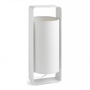 Επιτραπέζιο φωτιστικό σε λευκό χρώμα Υ400mm