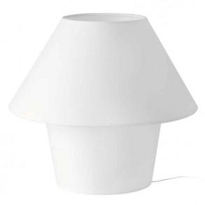 Επιτραπέζιο φωτιστικό σε λευκό χρώμα Φ50