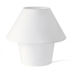 Επιτραπέζιο φωτιστικό σε λευκό χρώμα Φ300mm