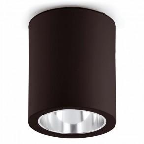 Φωτιστικό οροφής μαύρο Ε27
