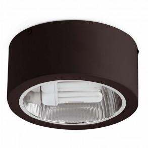 Μαύρο φωτιστικό οροφής E27