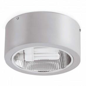 Γκρί φωτιστικό οροφής E27