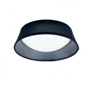 Φωτιστικό οροφής Φ435 πλαφονιέρα μαύρη Led