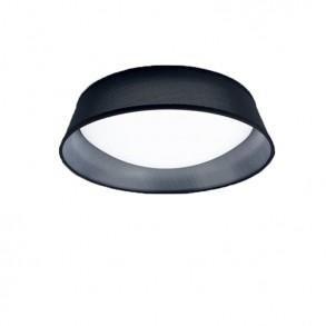 Φωτιστικό οροφής Φ31 πλαφονιέρα μαύρη Led