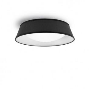 Φωτιστικό οροφής Φ59 πλαφονιέρα μαύρη Led