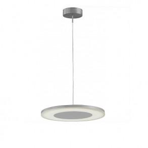 Φωτιστικό οροφής LED μονόφωτο από αλουμίνιο και ακρυλικό design