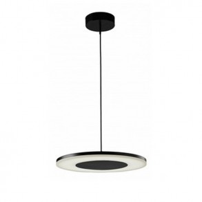 Φωτιστικό οροφής LED μονόφωτο από μέταλλο και ακρυλικό design