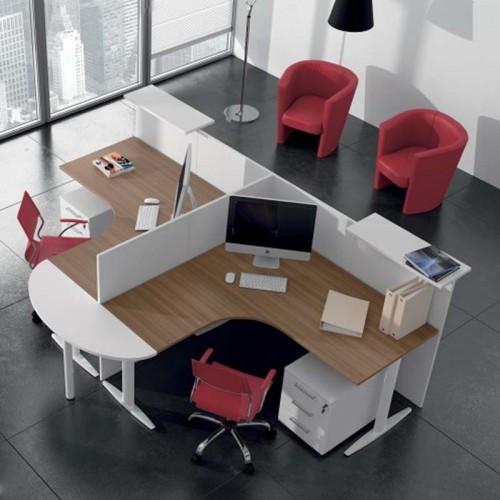 Μοντέρνο γραφείο δύο θέσεων
