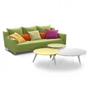 Καναπές Grace με ξύλινα πόδια
