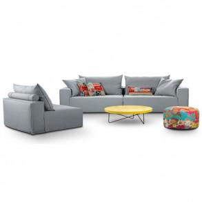 Καναπές & πολυθρόνα Luciano