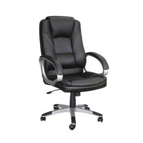 Δερμάτινη καρέκλα γραφείου ανατομική