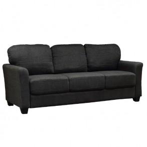 Τριθέσιος υφασμάτινος καναπές
