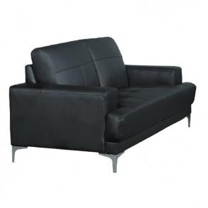 Οικονομικός δερμάτινος καναπές
