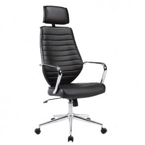 Καρέκλα γραφείου με στήριγμα στο κεφάλι