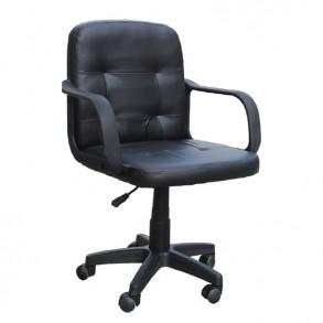 Καρέκλα γραφείου με χαμηλή πλάτη